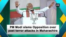PM Narendra Modi praises Veer Savarkar, slams Opposition over past terror attacks in Maharashtra