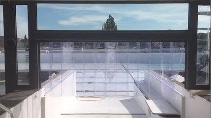 Visite du chantier du Stade Nautique d'Avignon