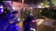 Les violences se poursuivent en Catalogne pour une troisième nuit consécutive