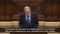 Torra anuncia otro referéndum separatista antes de acabar la legislatura