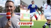 Bardot «Le jeu au pied offensif sera une des clés du match France - Galles» - Rugby - Bleus