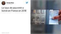 Le taux de pauvreté a bondi en France en 2018