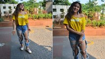 Sara Ali Khan gets massively trolled for her distressed jeans look