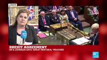 Brexit: EU, UK say an agreement has been reached