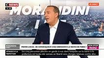 """Pierre Liscia propose à Anne Hidalgo de venir débattre en direct dans """"Morandini Live"""" face à """"la honte qu'est devenue Paris"""" - VIDEO"""