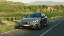 The first-ever BMW 220d Gran Coupe in Storm Bay Drone Video