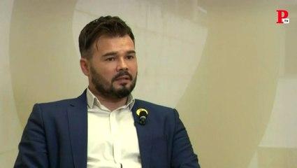 """Entrevista a Gabriel Rufián: """"Hay que limpiar el tablero con una amnistía"""""""