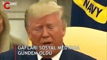 Trump gaflarıyla sosyal medyada gündeme oturdu