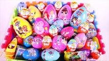 Learn Characters, Colors, Pet, PJ Masks, Paw Patrol, Peppa Pig, Masha LOL Surprise Egg Toys For Kids
