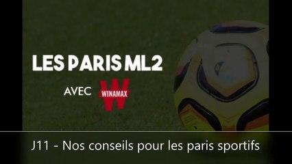 Podcast 7 - Les conseils paris de la J11 en Ligue 2