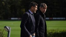 Working towards AC Milan v Lecce: the directors at Milanello