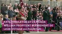 PHOTOS. Kate Middleton et le prince William au Pakistan : le couple de Cambridge, tout sourire lors d'une séance de cricket