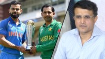 Modi, Imran Can Decide On Indo-Pak Series : Ganguly || Oneindia Telugu