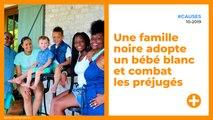 Une famille  noire adopte  un bébé blanc  et combat  les préjugés