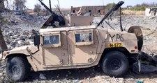 Suriye'de YPG'ye ait Hummer zırhlısı ele geçirildi