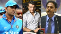 Sourav Ganguly To Discuss MS Dhoni's Future With Selectors On October 24 || Oneindia Telugu