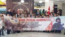 Vali ve öğrencilerden Barış Pınarı Harekatı'na asker selamlı destek