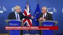 REPLAY - BREXIT : Boris Johnson et Jean-Claude Juncker s'expriment après l'accord conclu