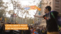Here's why Catalans separatists are protesting in Spain