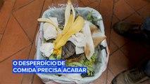 Desperdiçar comida não é apenas desnecessário, é também caro