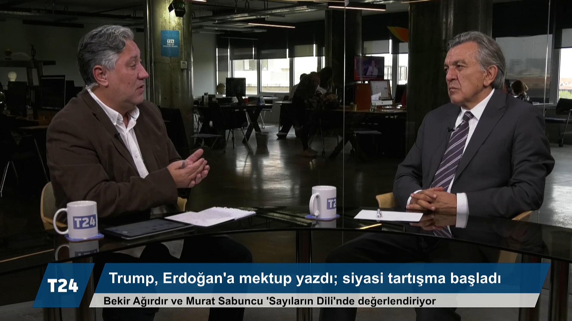 Bekir Ağırdır: Trump'ın Erdoğan'a mektubu lümpen, popülist bir siyasi anlayışın zirvesi
