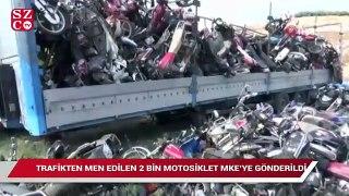 2 bin motosiklet silah olacak