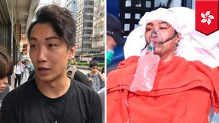 HK protest leader Jimmy Sham attacked by men with hammers