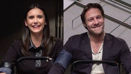 Nina Dobrev and Luke Bracey Take a Lie Detector Test