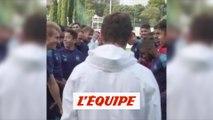 La surprise des joueurs pour l'anniversaire d'André Villas-Boas - Foot - L1 - OM