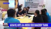 Agusan del Norte LGUs undergo crisis management training