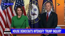 GLOBAL NEWS: House democrats intensify Trump inquiry