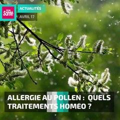 #pollen #allergies :  quels traitements homéo ?