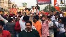 भाजपा उम्मीदवार राजेश बाघा के प्रचार में किया गुरदासपुर के सांसद सनी देओल ने रोडशो