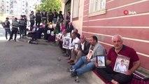 Ailelerin HDP binası önündeki eylemi 45. gününde devam ediyor