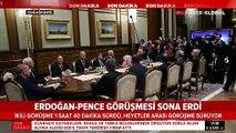 ABD heyeti Ankara'da: Erdoğan-Pence görüşmesi sona erdi