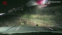 Heart-stopping Dashcam Video Shows Highway Patrolman Saving an Unconscious Driver From an Oncoming Train