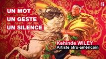 L'artiste afro-américain Kehinde Wiley: un mot, un geste, un silence