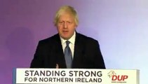 Boris Johnson tells the DUP in 2018 'no British Conservative government' could sign up to arrangement involving a border in the Irish Sea