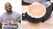 50 People Try To Make Waffles