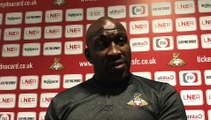 Doncaster Rovers manager Darren Moore on the challenge of getting his side firing in front of goal