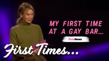 Renée Zellweger reveals her first time at a gay bar, Pride and why shes a LGBT ally ,  First Times