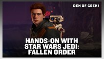 Star Wars Jedi: Fallen Order - Hands-on Gameplay Preview with Den of Geek