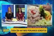 Cada día más peruanos sufren obesidad: ¿cómo evitarlo?