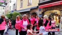 SAVOIE Une flashmob festive pour Octobre Rose
