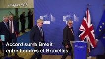Brexit: nouvel accord conclu entre Londres et Bruxelles
