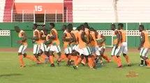 Football   Elim. CHAN 2020 : Gouaméné Maxime et son groupe répètent