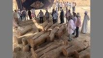 """나일강 유역서 고대 이집트 목관 20여 개 발견...""""거대하고 중요한 발견"""" / YTN"""