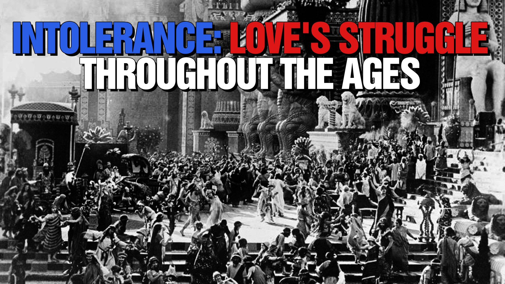 Intolerance: Love's Struggle Throughout the Ages (1916) - (Drama, History, Silent)