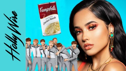 "Becky G Reveals #BTS J-Hope ""Chicken Noodle Soup"" & ""Mala Santa"" Is Her BEST Music YET"