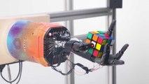 Un bras robotisé résout un Rubik's Cube tout seul